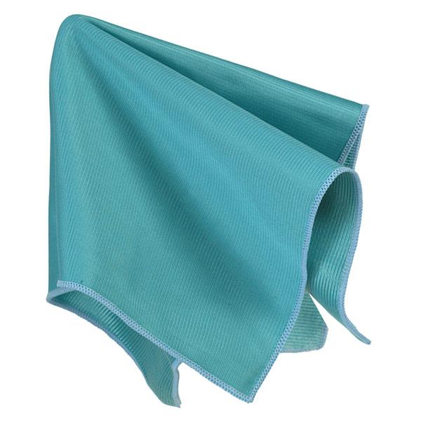 Casabella Glass Magnet Cloth Blue