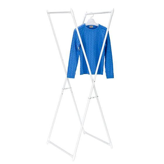 Folding X-Frame Garment Rack