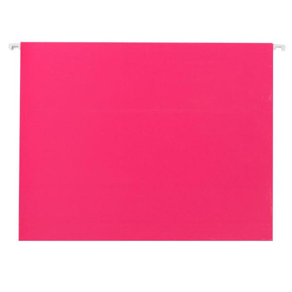 Letter-Size Hanging File Folders Pink Pkg/6