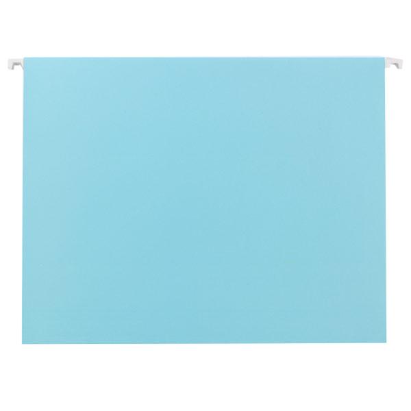 Letter-Size Hanging File Folders Sky Blue Pkg/6