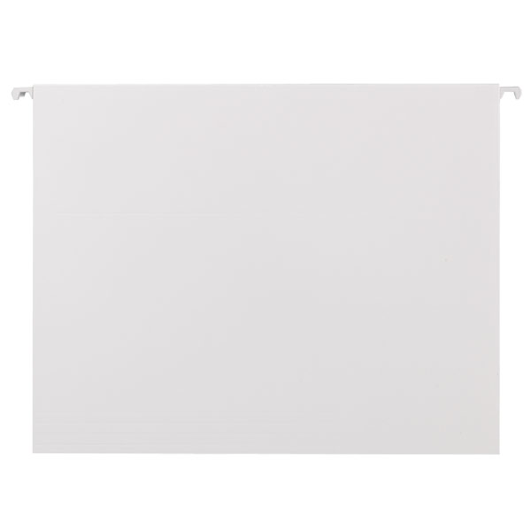 Letter-Size Hanging File Folders White Pkg/6