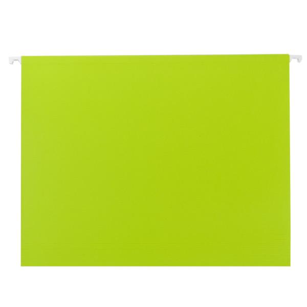 Letter-Size Hanging File Folders Kiwi Pkg/6