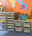 Platinum elfa Mesh Classroom Drawers