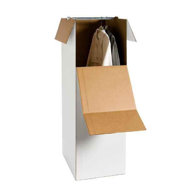 Corrugated Stand-Up Wardrobe Box