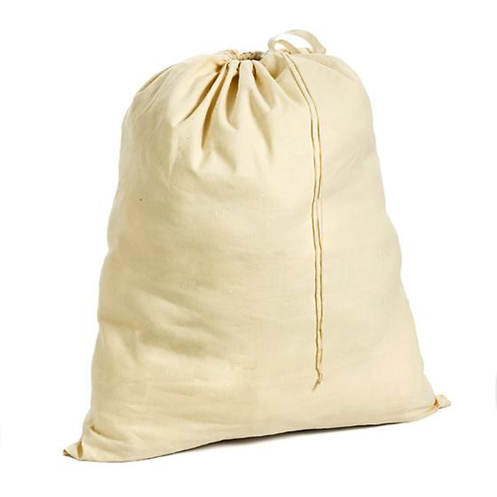 Unbleached Cotton Laundry Bag