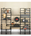 Ebony Connections&reg; Library Shelving