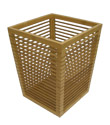 Bamboo Wastebasket