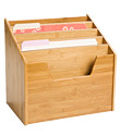 5-Section Bamboo Vertical File