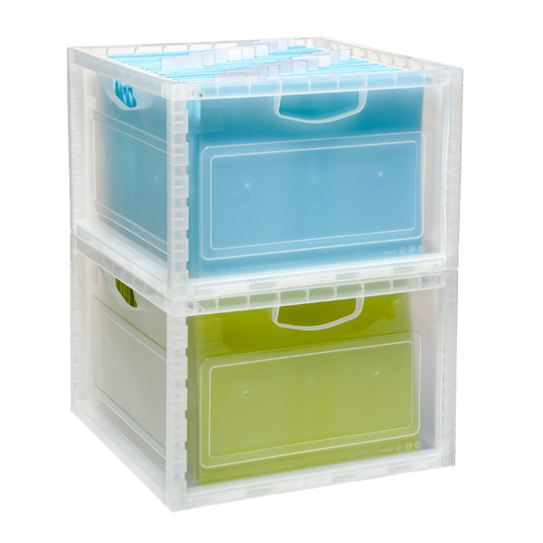 Stacking File & Storage Crate