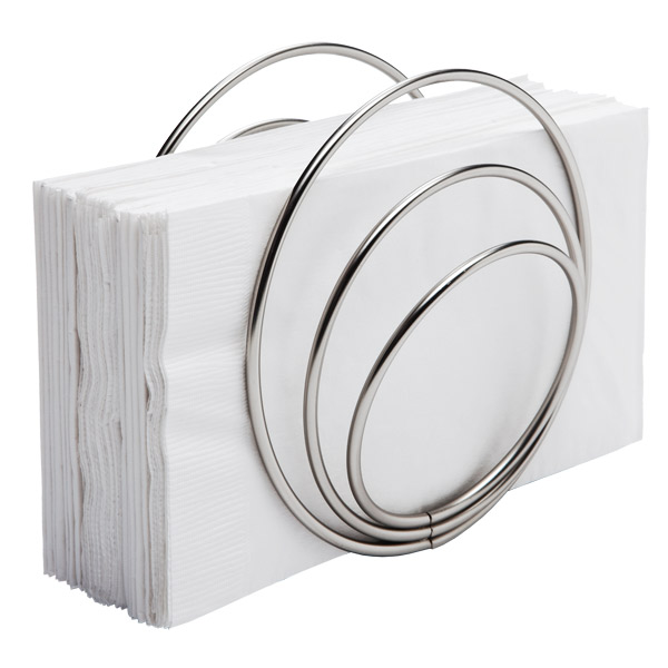 Umbra Rings Napkin Holder Nickel