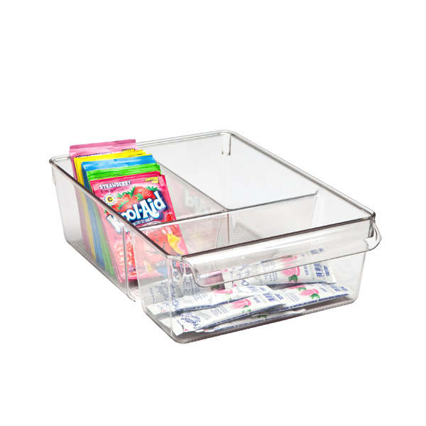 Linus Wide Divided Cabinet Organizer