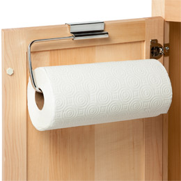 Stainless Steel Overcabinet Paper Towel Holder