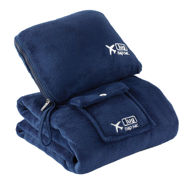 Nap Sac Blanket & Pillow Navy