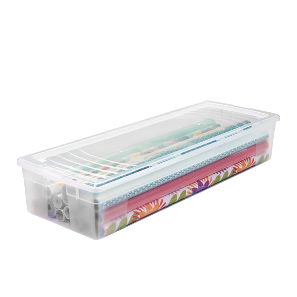 Clear Gift Wrap Box