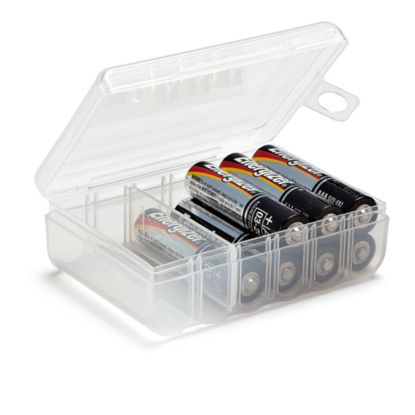 AAA Battery Storage Container
