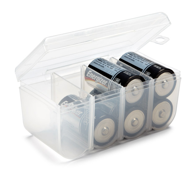 C Battery Storage Container