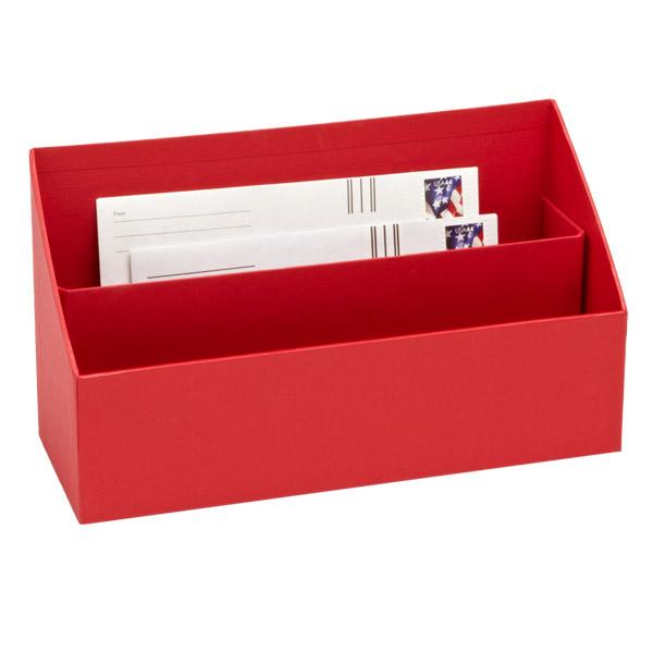 Bigso Stockholm Letter Sorter Red