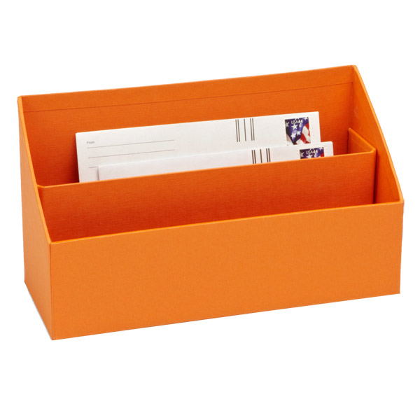 Bigso Stockholm Letter Sorter Orange