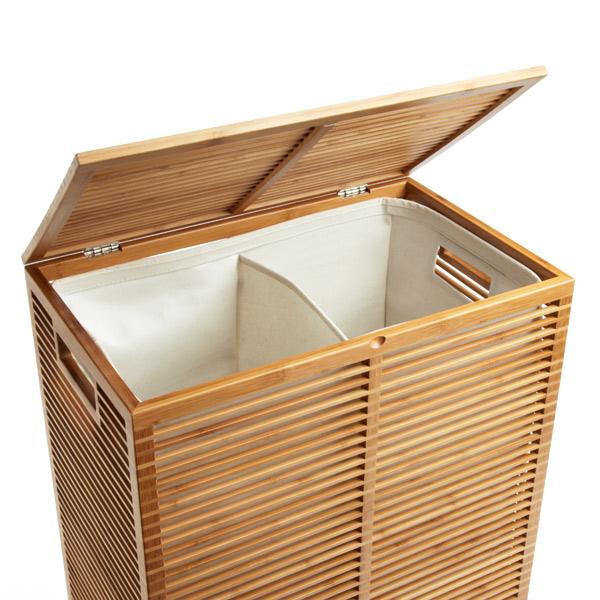 Zen Bamboo Laundry Hamper