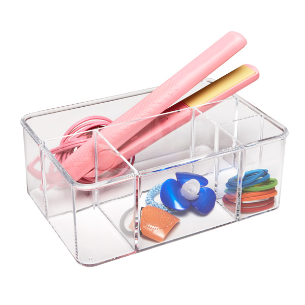Acrylic Hair Care Organizer Clear