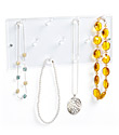 11-Peg Acrylic Necklace Rack