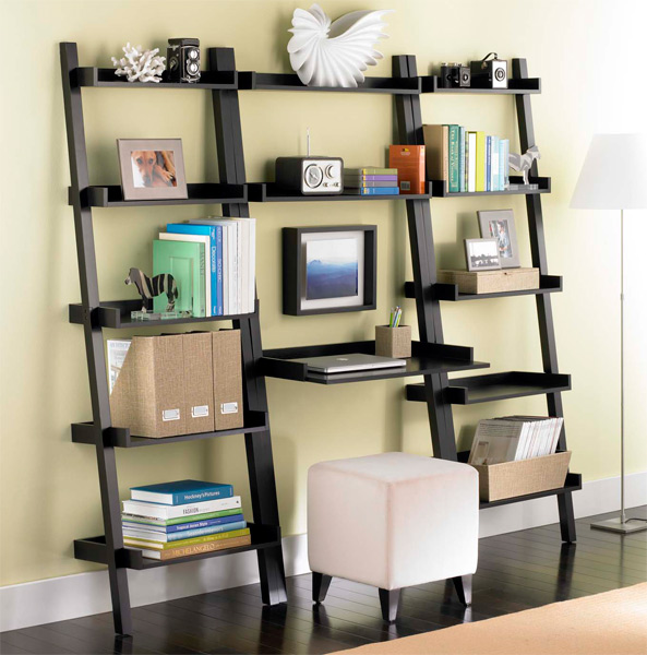 Linea Leaning Desk & Bookcases Solution Java