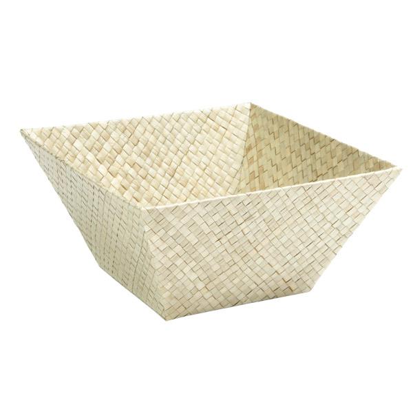 Medium Square Pandan Basket Natural