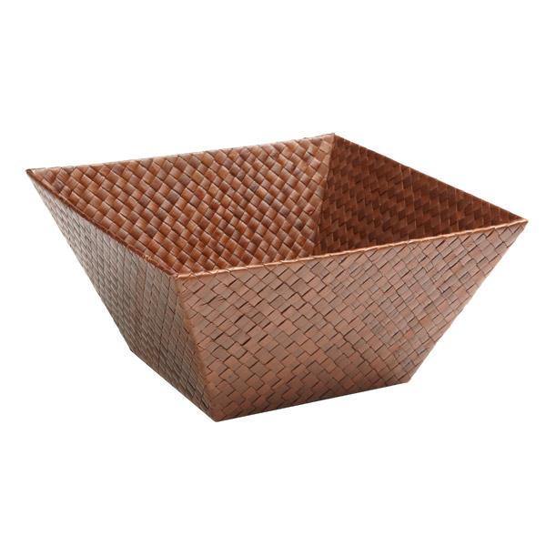 Medium Square Pandan Basket Sienna
