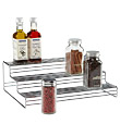3-Tier Chrome Cabinet Organizer