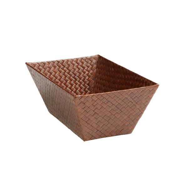 Small Rectangular Pandan Basket Sienna