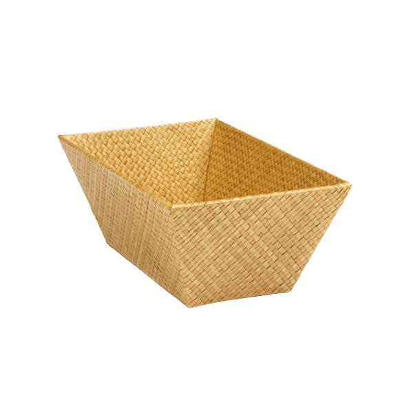 Small Rectangular Pandan Basket Acorn