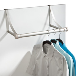 The Container Store U003e Hangover Overdoor Valet Rod By Umbra