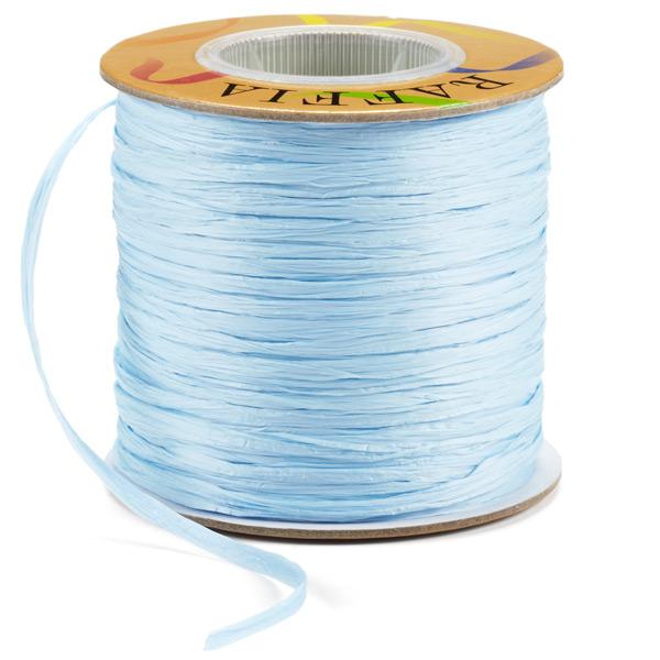 Raffia Ribbon Matte Sky Blue