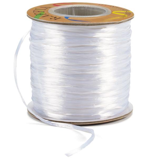 Raffia Ribbon Pearl White
