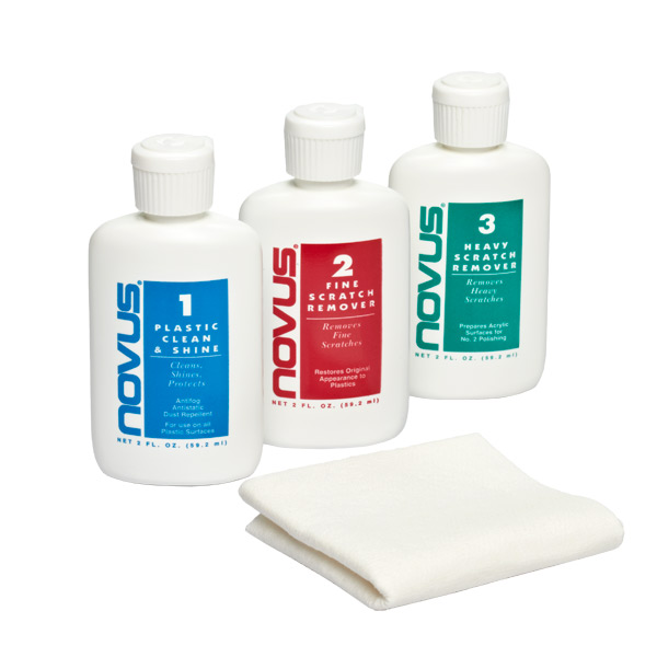 2 oz. Novus Plastic Polish Set