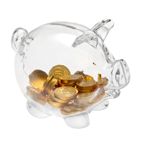 Piggy Bank Clear