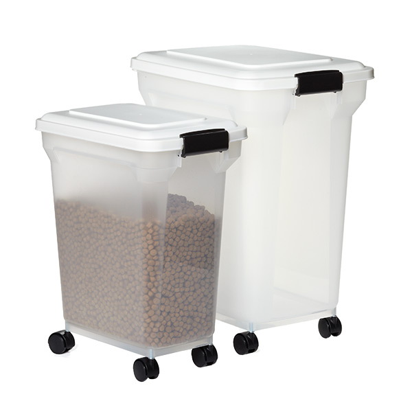 Plastic Dog Food Storage Containers