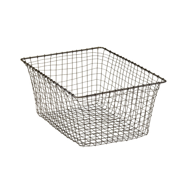 Medium Marche Basket Rustic Steel