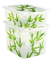 Bamboo Leaves Storage Boxes