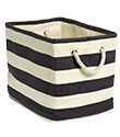 Rugby Stripe Bins