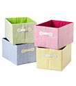 Small Gingham Storage Bin