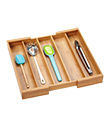 Expandable Bamboo Utensil Tray