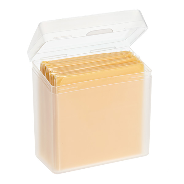 Sliced Cheese Stay Fresh Container