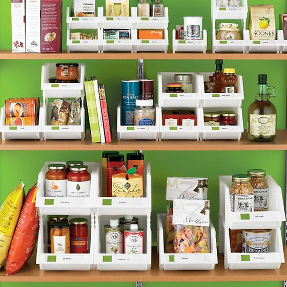 Kitchen Storage Bins: The Container Store