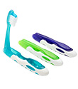Folding Toothbrush with Microban®