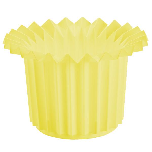 Origami Bin Yellow