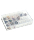 24-Compartment Unbreakable Box Clear