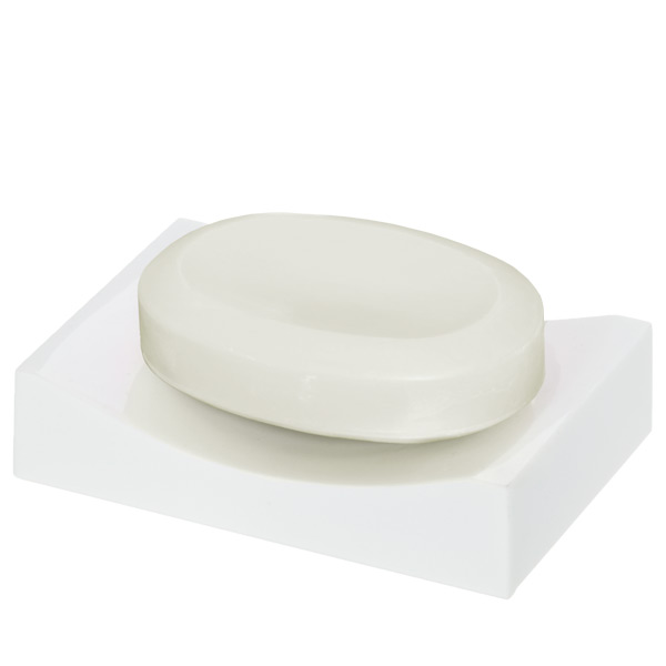 Deco Soap Dish White