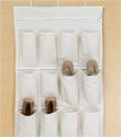 24-Pocket Cotton Overdoor Shoe Bag