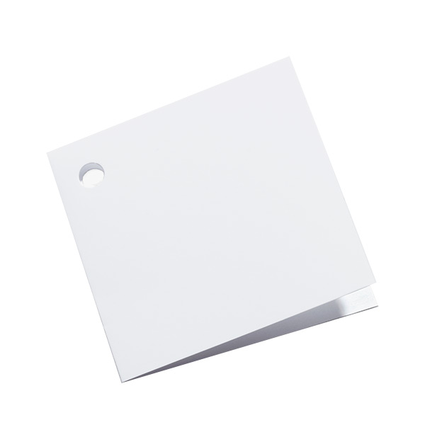 Square Gift Tags White Pkg/8